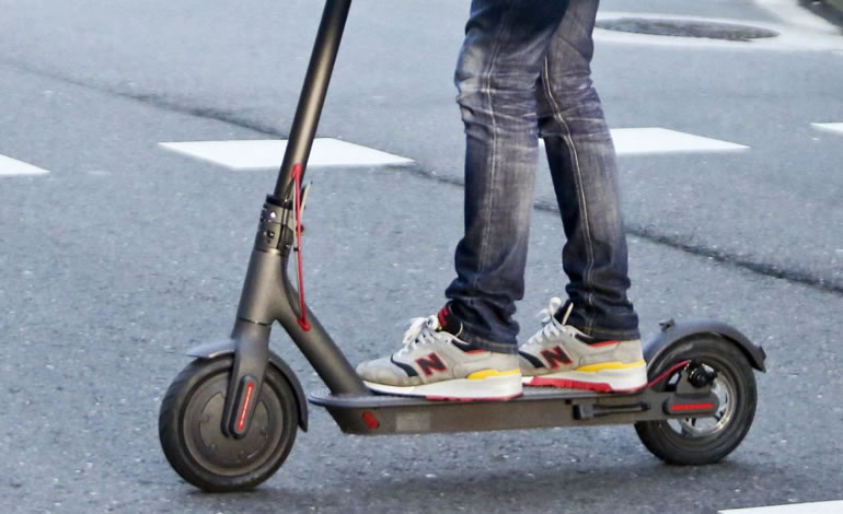 atropello con un patinete eléctrico