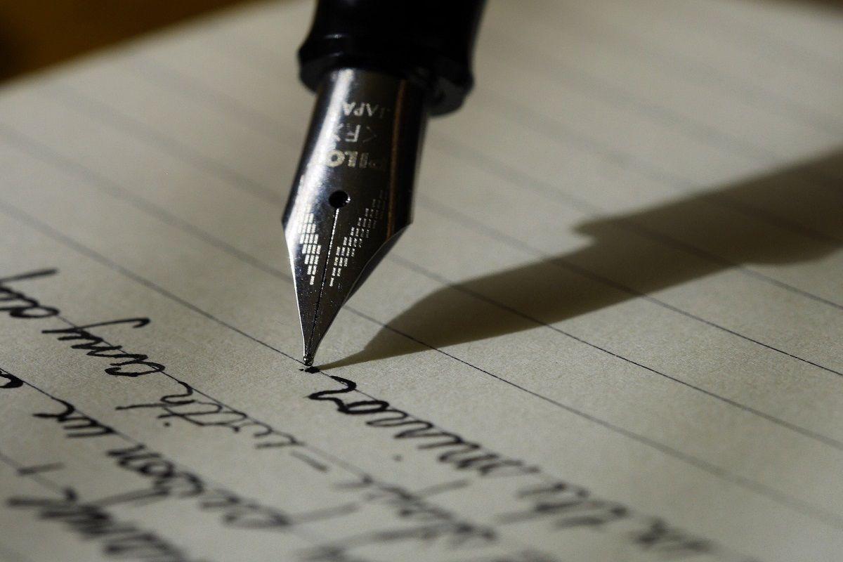 testamento escrito a mano
