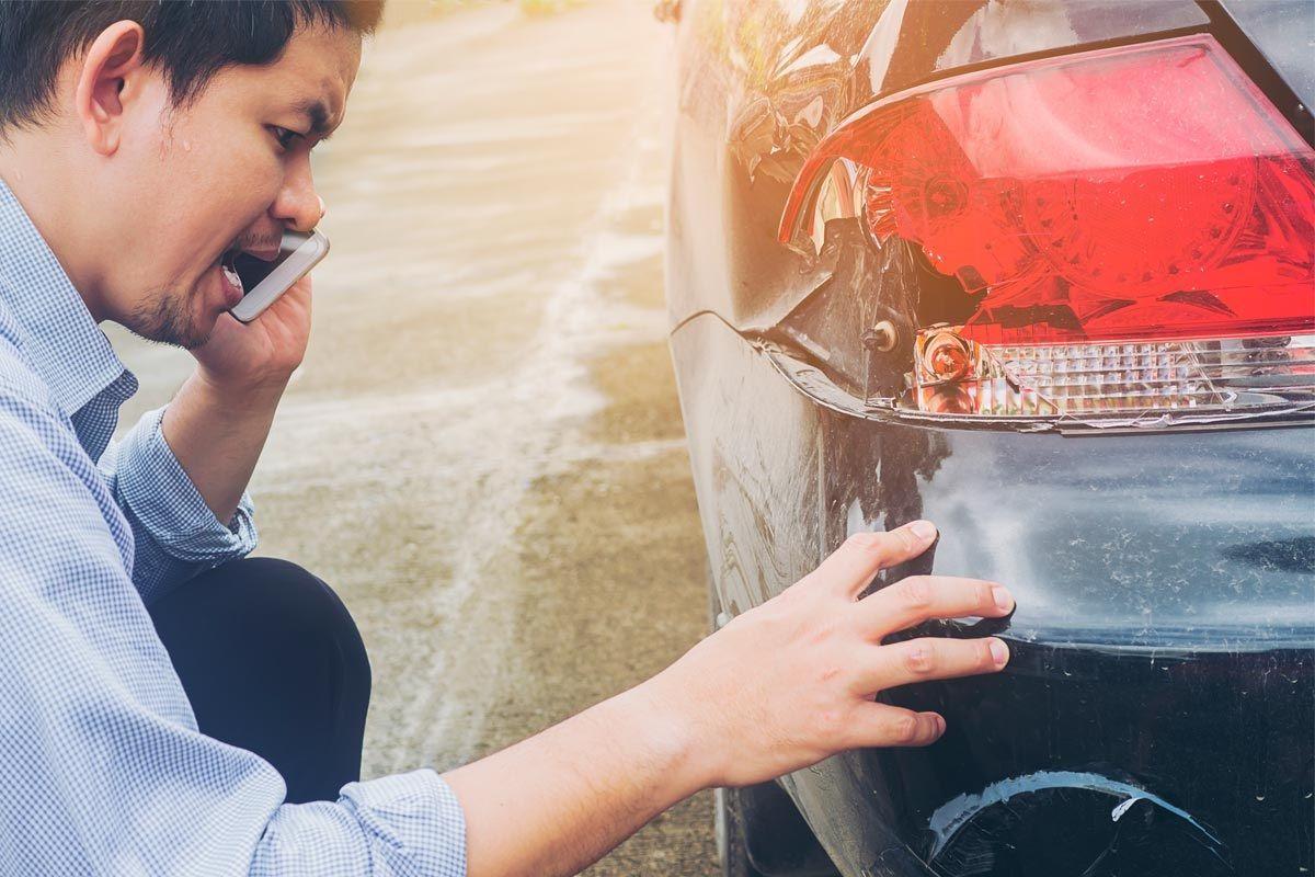reclamación daños en coche