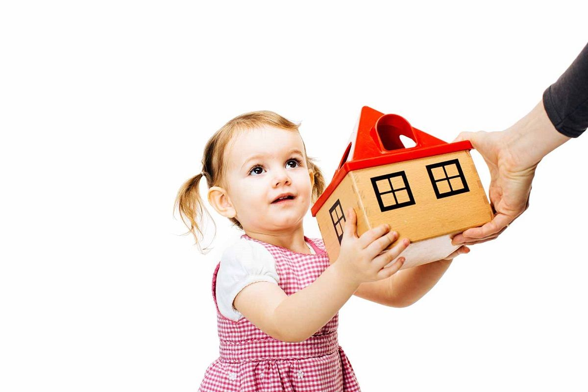 donar un piso a los hijos